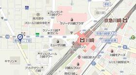 川崎駅 徒歩7分案内図