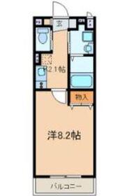 アートスペース横浜2階Fの間取り画像