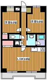 新高島平駅 徒歩23分4階Fの間取り画像