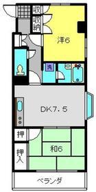 メイプルトンハウス3階Fの間取り画像