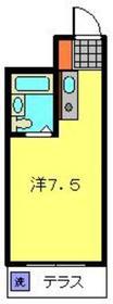 エスケイハイツ1階Fの間取り画像
