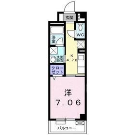 インテレクト3階Fの間取り画像