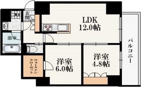 三鷹駅 徒歩5分5階Fの間取り画像