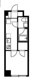 リバージュ弘明寺2階Fの間取り画像