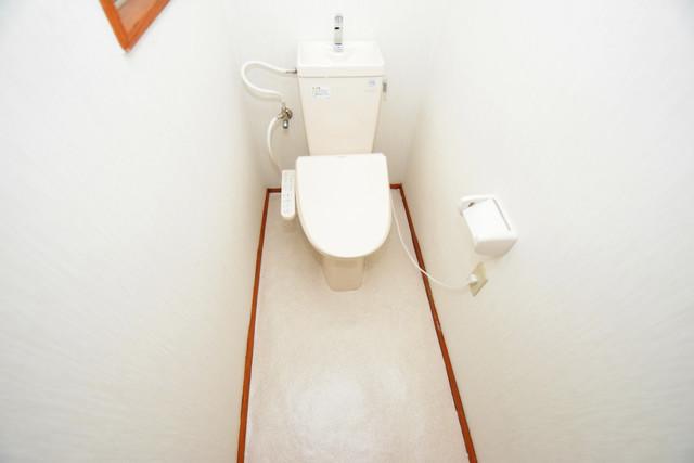 長堂2-16-8 貸家 うれしいウォシュレット完備。心地よい空間です。