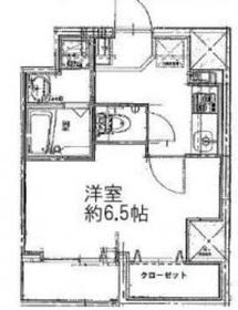 仲木戸駅 徒歩7分3階Fの間取り画像