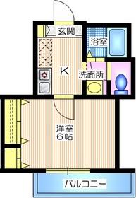 プレジオ肥田3階Fの間取り画像