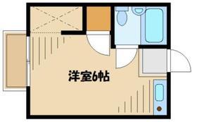 グリーンハウス(相原町)2階Fの間取り画像