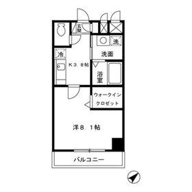 アーバンフォート横浜4階Fの間取り画像