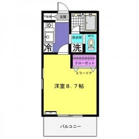 ラディーチェ3階Fの間取り画像