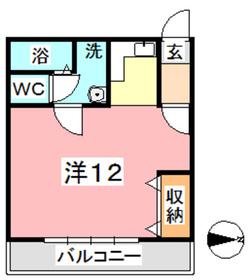 ビバリーヒルズ I2階Fの間取り画像