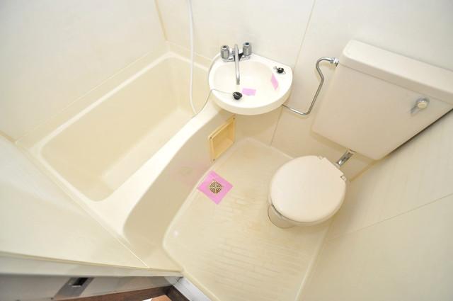 シャルマン89 シャワー一つで水回りが掃除できて楽チンです