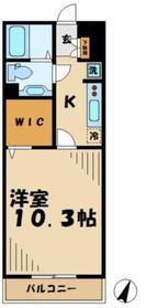 ウィステリア(上柚木)3階Fの間取り画像
