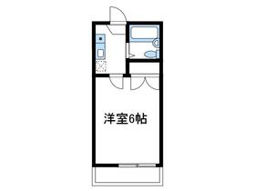 小田急相模原第22レジデンス2階Fの間取り画像