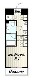 ディグニータ13階Fの間取り画像