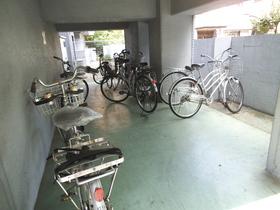 自転車はこちらに置けます☆