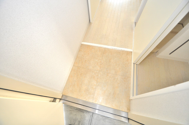 LA CASA 新深江 素敵な玄関は毎朝あなたを元気に送りだしてくれますよ。