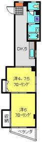 ベルテ栄2階Fの間取り画像