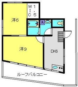 シママンション22階Fの間取り画像