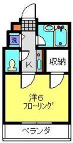 ブランシュ・マツダ3階Fの間取り画像