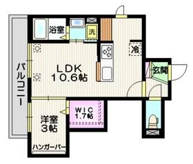(仮称)川口市芝新町メゾン3階Fの間取り画像