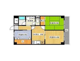 ポートハイム弘明寺第三3階Fの間取り画像