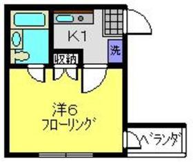 クレインA3階Fの間取り画像