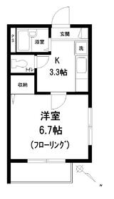 パークサイドヴィラ3階Fの間取り画像