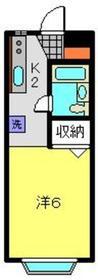 天王町駅 徒歩16分1階Fの間取り画像