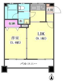 リッツ山王テラス 201号室