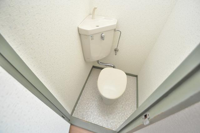 スペラーレ今里 清潔感のある爽やかなトイレ。誰もがリラックスできる空間です。