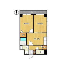 サリジェ212階Fの間取り画像