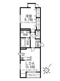 C-COURT OMIYA1階Fの間取り画像