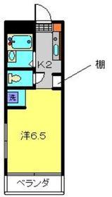 コアーK3階Fの間取り画像