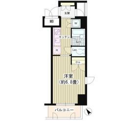 渋谷駅 徒歩2分2階Fの間取り画像