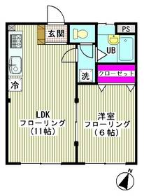 コーポ川田 203号室