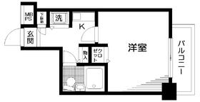 日神パレステージ吉祥寺10階Fの間取り画像