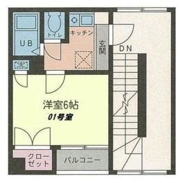 HOUZEN Ⅵ5階Fの間取り画像