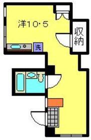 高田駅 徒歩17分2階Fの間取り画像