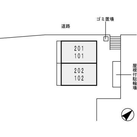 ソフィア・コート 1配置図