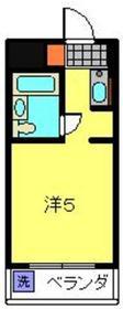 日吉駅 徒歩1分4階Fの間取り画像