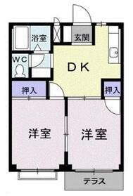 エルディムSK11階Fの間取り画像