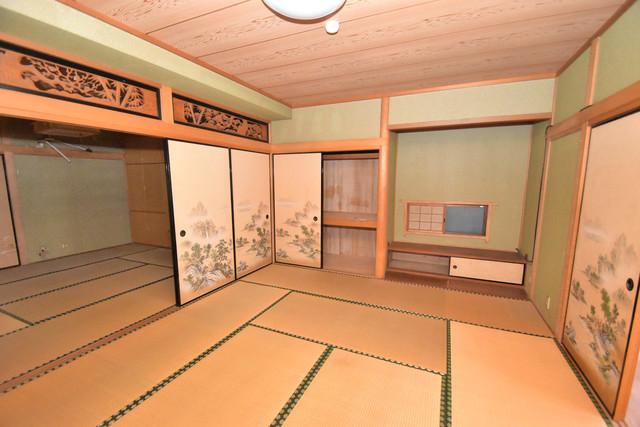 ロイヤル丸文 癒しの和室が2間もあります。