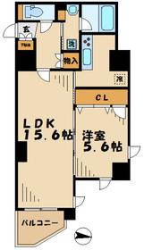 バルキープラザ9階Fの間取り画像