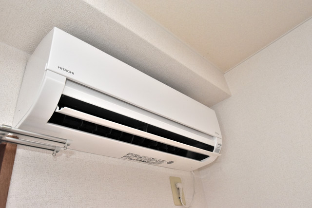 カーサ・デル・ソーレ 最初からエアコンが付いているなんてお得ですね