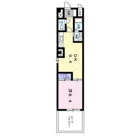 パールピアス3階Fの間取り画像