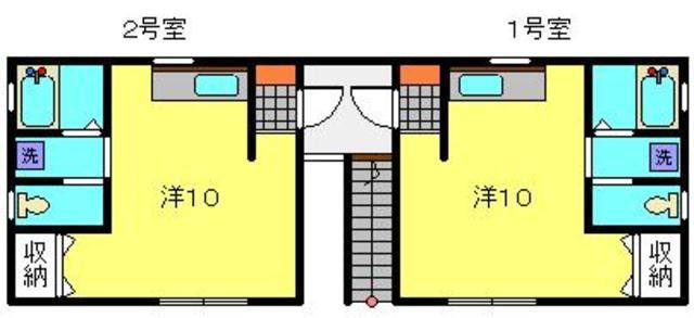 プラザ滝頭Ⅲ間取図