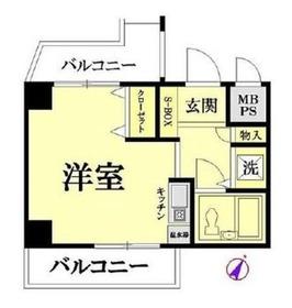 広洋フォルム東寺尾 4階Fの間取り画像