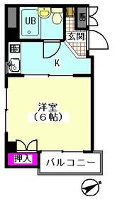 平松ハイツ 201号室