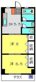 第二諏訪ビル1階Fの間取り画像